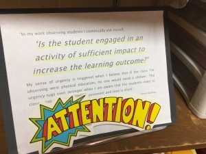 I love this quote from Steve Barkley.  It's a good reminder of the urgency we need as educators. See http://barkleypd.com/blog/urgency-in-leading-teaching-and-learning/